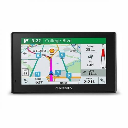 Navigační systém GPS Garmin DriveSmart 51T-D Lifetime Europe45 černá + DOPRAVA ZDARMA