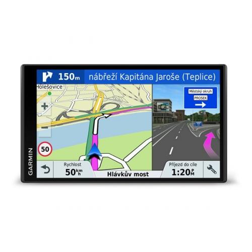Navigační systém GPS Garmin DriveSmart 61T-D Lifetime Europe45 černá + DOPRAVA ZDARMA