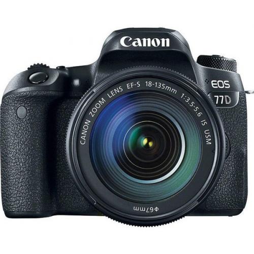 Canon EOS 77D + 18-135 IS USM černý