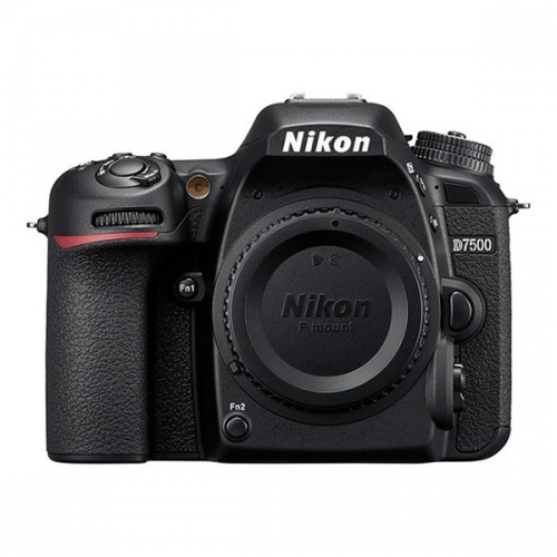Digitální fotoaparát Nikon D7500 tělo černý