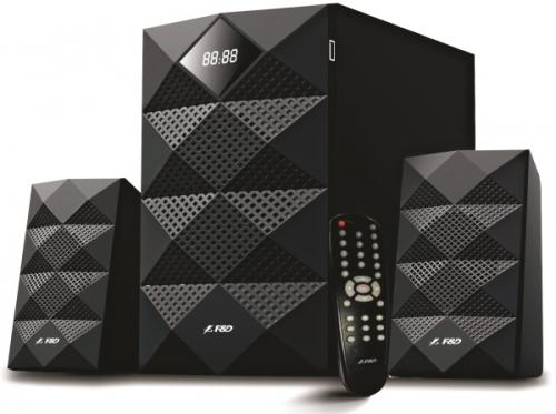 Fenda F&D A180X 2.1, bluetooth, rádio, USB, SD, dálkové ovládání
