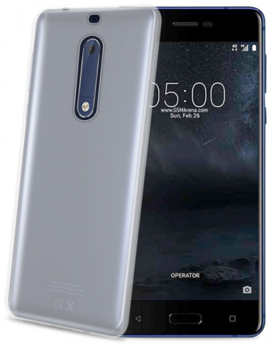 Celly Gelskin pro Nokia 5 průhledný