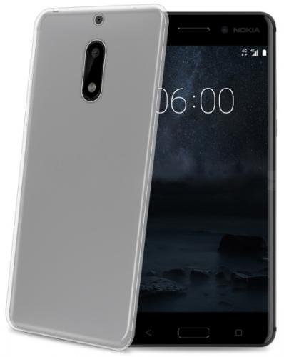 Celly Gelskin pro Nokia 6 průhledný (GELSKIN662)