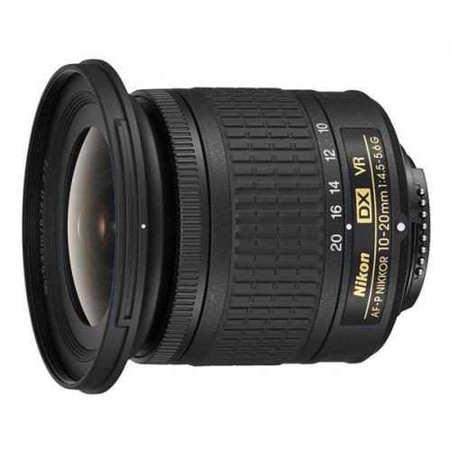 Objektiv Nikon NIKKOR 10-20 mm f/4.5-5.6G VR AF-P DX černý