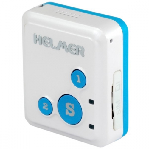 Helmer LK 503 s obousměrnou komunikací pro sledování osob, zavazdel