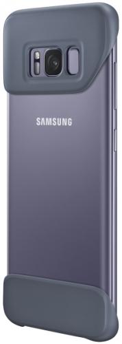 Fotografie Samsung 2 dílný pro Galaxy S8+ (EF-MG955CEEGWW) fialový