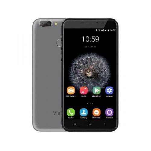 Mobilní telefon Umax VisionBook P55 LTE Pro šedý + dárek