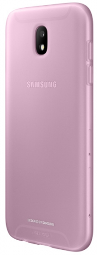 Fotografie Samsung Jelly Cover pro J7 2017 růžový (EF-AJ730TPEGWW)