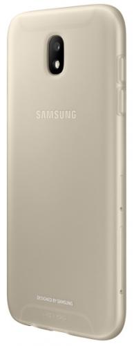 Samsung Jelly Cover pro J7 2017 (EF-AJ730T) zlatý (EF-AJ730TFEGWW)