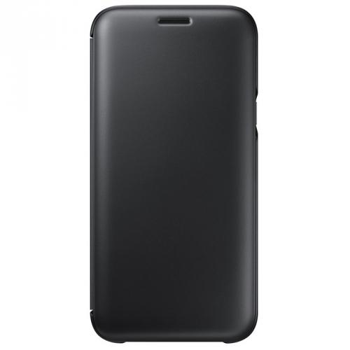 Fotografie Samsung Wallet Cover pro J5 2017 (EF-WJ530CBEGWW) černé