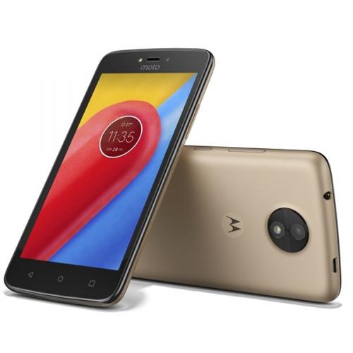 Motorola Moto C Dual SIM zlatý + dárek