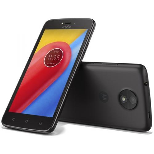 Motorola Moto C Dual SIM černý + dárek