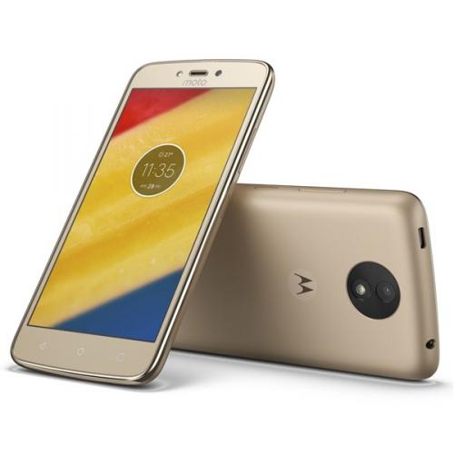Lenovo Motorola Moto C Plus Dual SIM zlatý + dárek