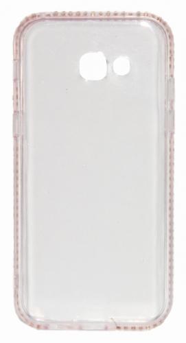 Beeyo Diamond Frame pro Samsung Galaxy A5 (2017) růžový (BEASAGAA52017TPUFRPI)