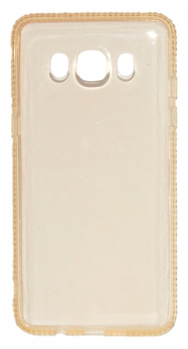 Beeyo Diamond Frame pro Samsung Galaxy J5 (2016) zlatý (BEASAGAJ52016TPUFRGO)