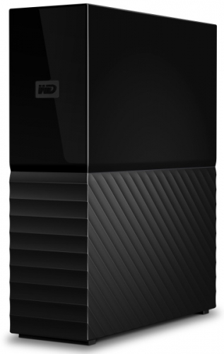 Western Digital My Book 6TB, USB 3.0 černý