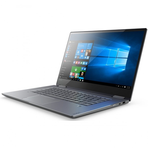 Lenovo YOGA 720-15IKB šedý + dárky (80X70047CK)