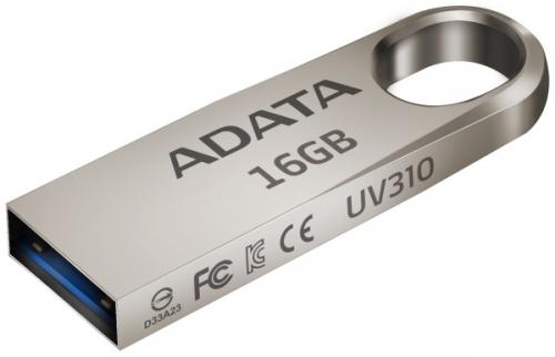 ADATA UV310 16GB, USB 3.1 kovový