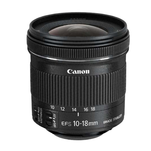 Canon EF-S 10-18mm f/4.5-5.6 IS STM + EW73C + LC kit