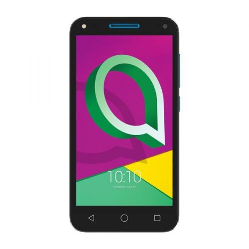 Mobilní telefon ALCATEL U5 3G 4047D Dual SIM (4047D-2CALE11) černý/modrý