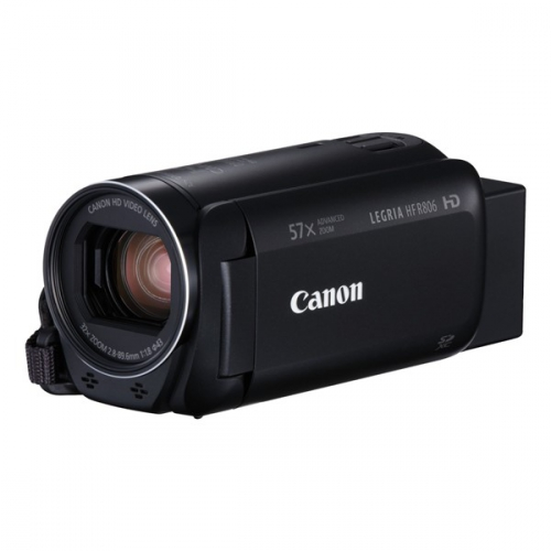 Canon LEGRIA HF R806 Essential Kit + pouzdro + SD karta černá (1960C015)