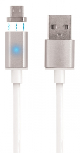 Forever USB/micro USB, 1m, magnetická koncovka