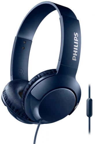 Sluchátka Philips SHL3075BL modrá