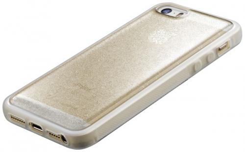 CellularLine SELFIE CASE pro Apple iPhone 5/5s/SE zlatý