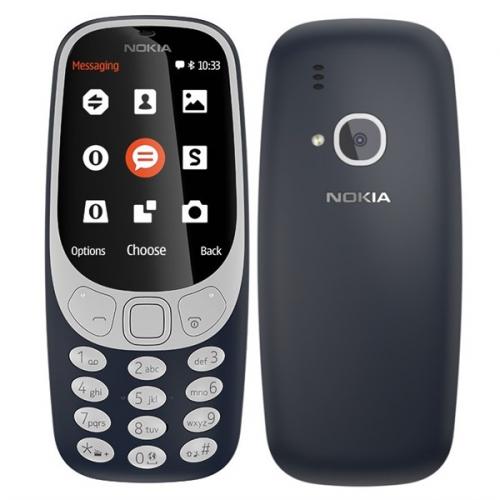 Nokia 3310 (2017) Dual SIM modrý + dárek (A00028108)