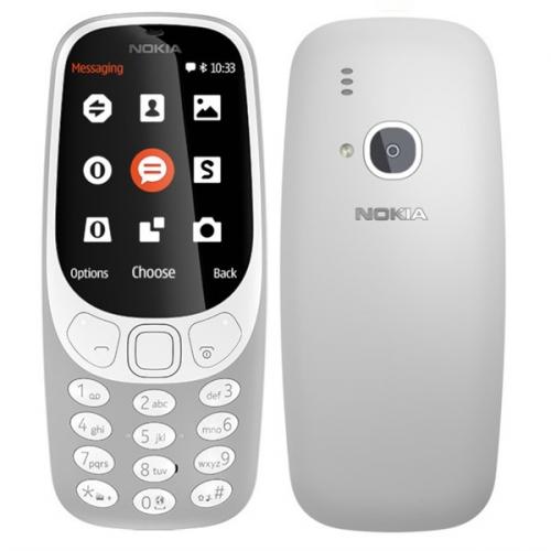 Nokia 3310 (2017) Dual SIM šedý + dárek (A00028270)