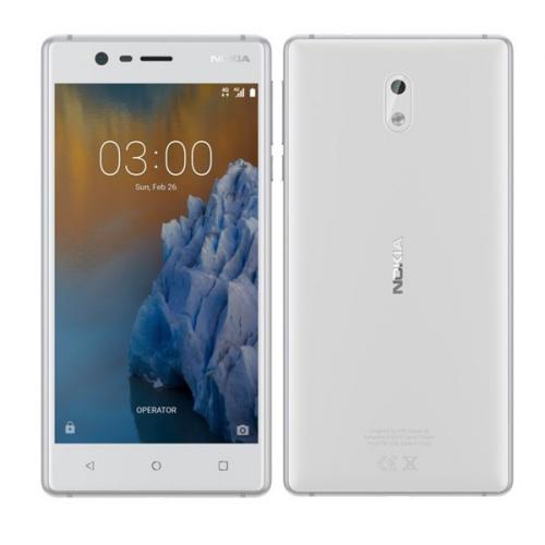 Nokia 3 Dual SIM bílý (11NE1S01A14)