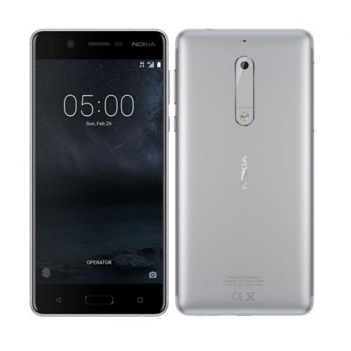 Nokia 5 Single SIM stříbrný (11ND1S01A11)