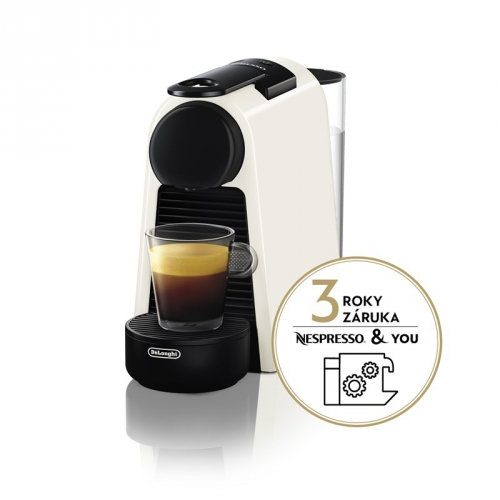 Espresso DeLonghi Nespresso Essenza Mini EN85.W bílé + DOPRAVA ZDARMA