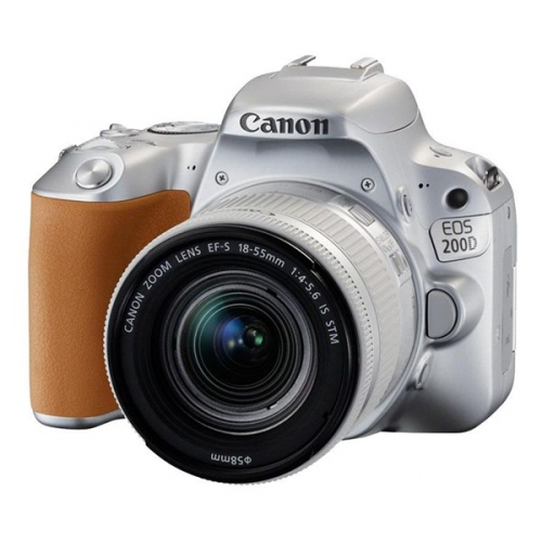 Canon EOS 200D + 18-55 IS STM stříbrný + dárek (2256C001)
