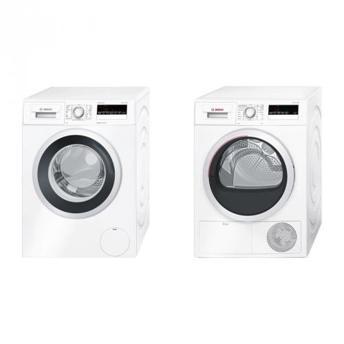 Set (Sušička prádla Bosch WTH85207CS) + (Automatická pračka Bosch WAN28260CS)