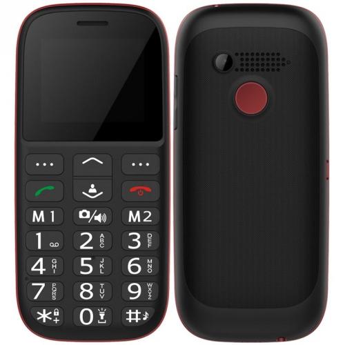 CUBE 1 F100 Dual SIM černý/červený + dárek (F100)