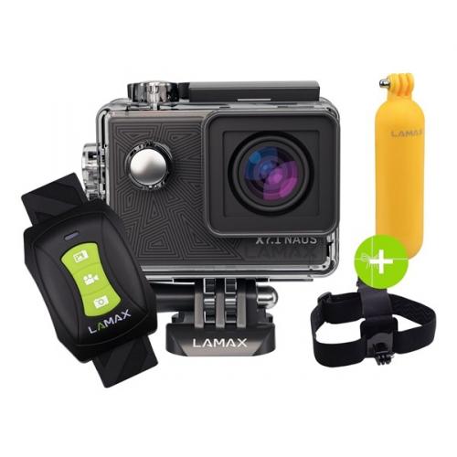 Outdoorová kamera LAMAX X7.1 Naos + dárek černá