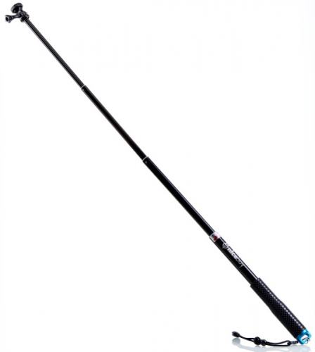 Selfie tyč Niceboy v2, teleskopická 100 cm černý
