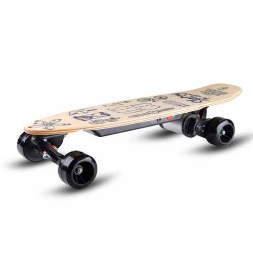 Skatey wood art