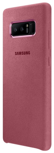 Samsung Alcantara pro Galaxy Note 8 růžový