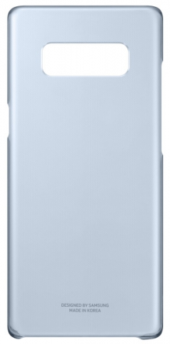 Fotografie Samsung Clear Cover pro Galaxy Note 8 (EF-QN950C) modrý (EF-QN950CNEGWW)
