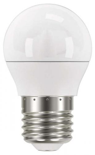 EMOS mini globe, 6W, E27, teplá bílá