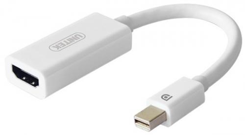 Unitek HDMI / Mini DisplayPort, podpora 4K bílá