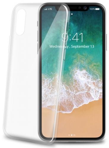 Celly Ultrathin pro Apple iPhone X bílý