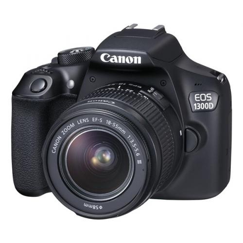 Canon 1300D 18-55 DC + 75-300 DC + dárek