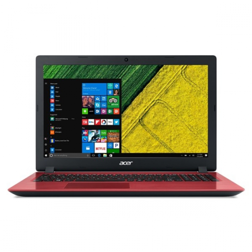 Acer Aspire 3 (A315-51-31XP) červený + dárek