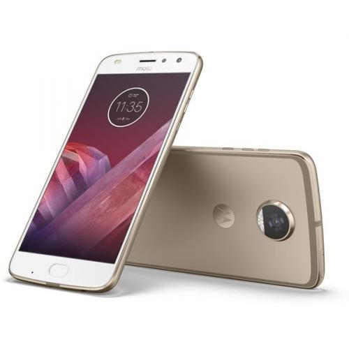 Motorola Moto Z2 Play Dual SIM zlatý + dárek (SM4483AJ1N7)