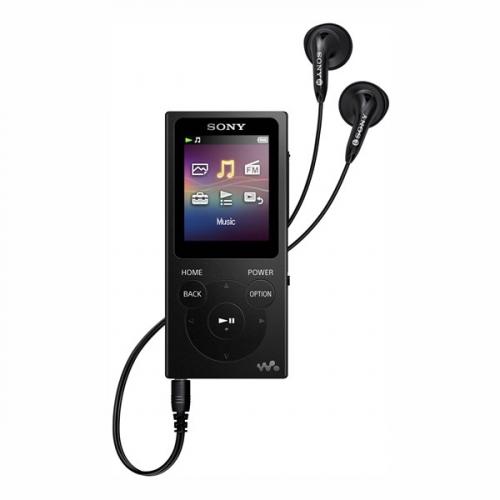 MP3 přehrávač Sony NW-E394B černý