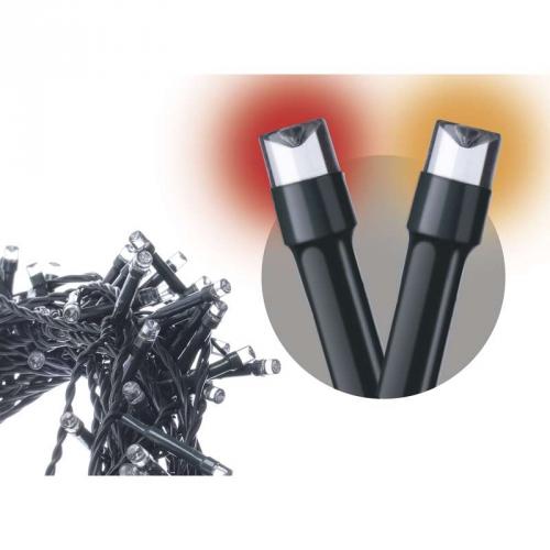 Fotografie Emos LED dekorační řetěz 120LED XMAS FF 12M IP44 VT/R