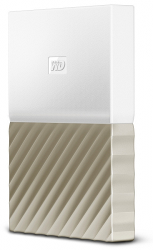 Western Digital My Passport Ultra 1TB bílý/zlatý
